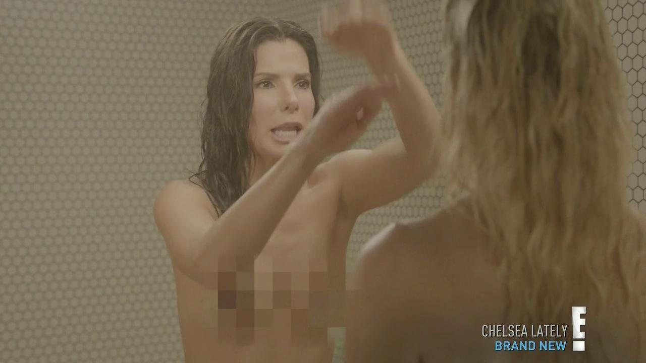Cock her sandra bullock nude in bath bear porn young
